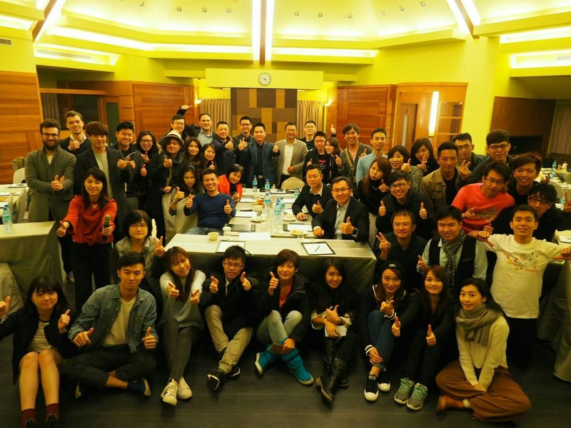 2016 YEAR-END Party kick off meeting 大合照