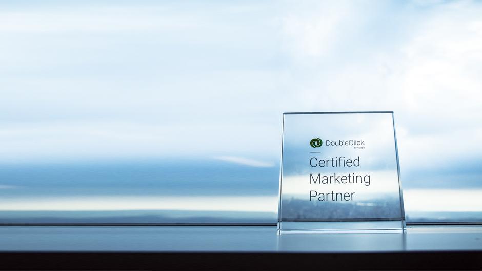 2017年榮獲(DCMP) Google DoubleClick Marketing Partner 台灣認證夥伴計畫