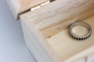 扱いが雑な指輪