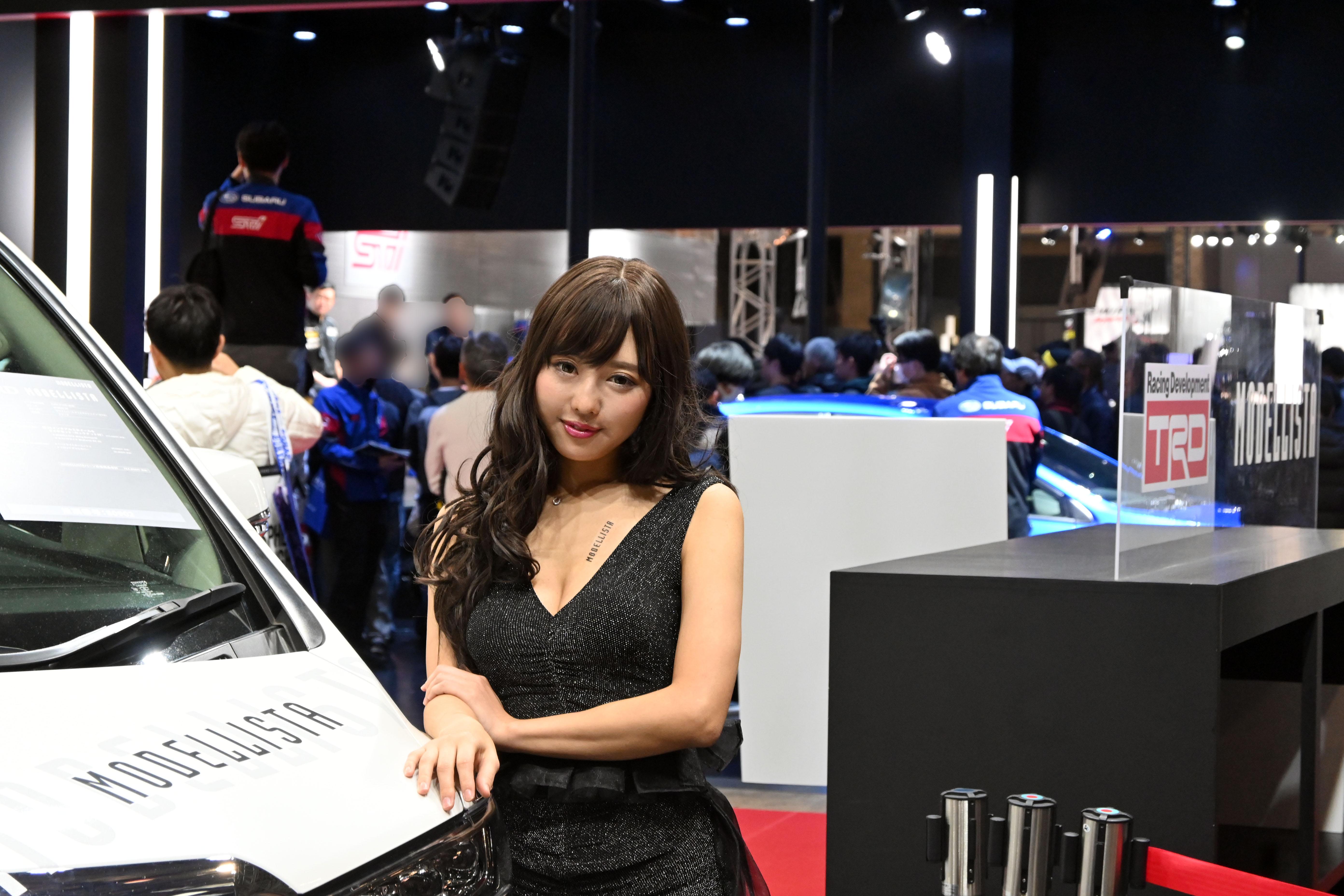 東京オートサロン2020美女図鑑モデリスタブース