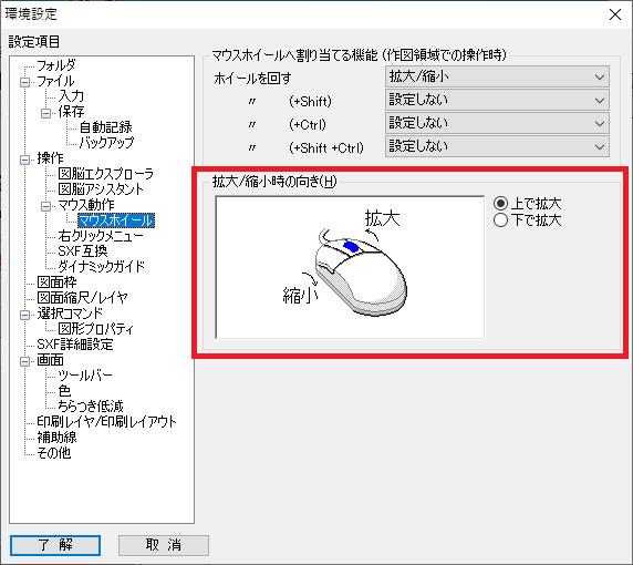 マウス操作で画面表示を拡大/縮小したり、表示位置を移動するには – 図 ...