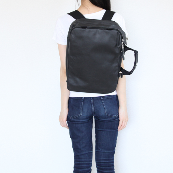 QWSTION(クエスション)/Daypack Jet Black