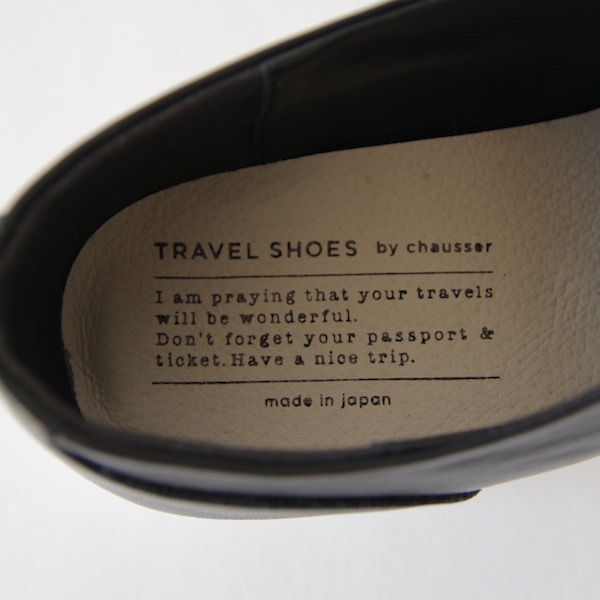TRAVEL SHOES ウイングチップ レイン BL/WH