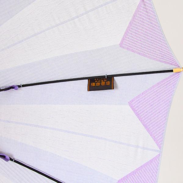 日傘 紫おくら