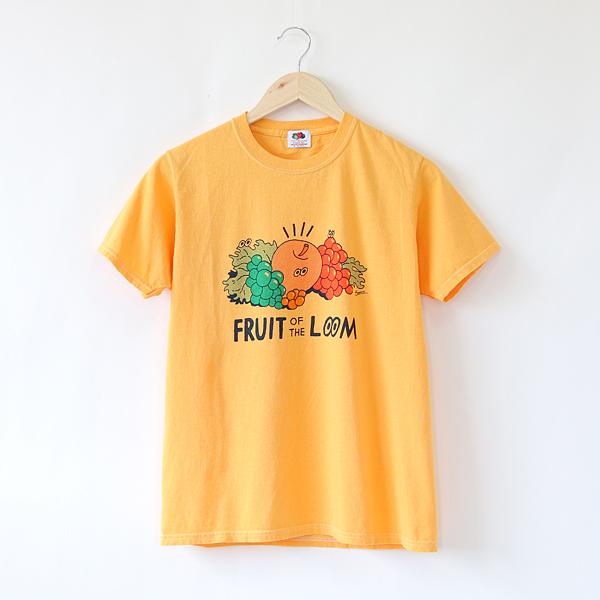 FRUIT PARLOR プリントTシャツ face-MANGO