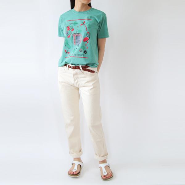 FRUIT PARLOR プリントTシャツ riya