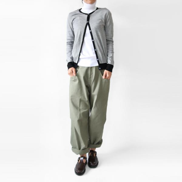 tricotage de marmoutier/クルーネックカーディガン