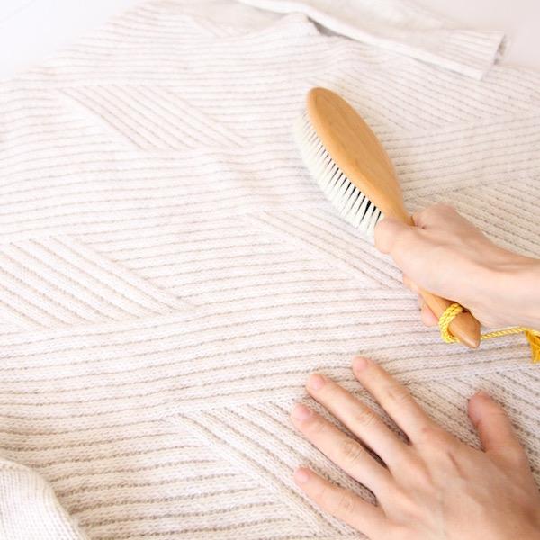 カシミア & ウールケア 洋服ブラシ