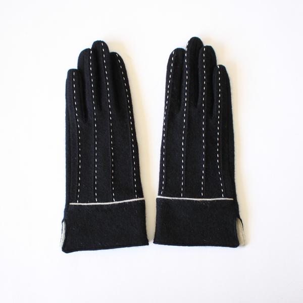 女性用手袋  Borderie/Black