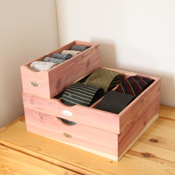 Woodlore シダー収納ボックス