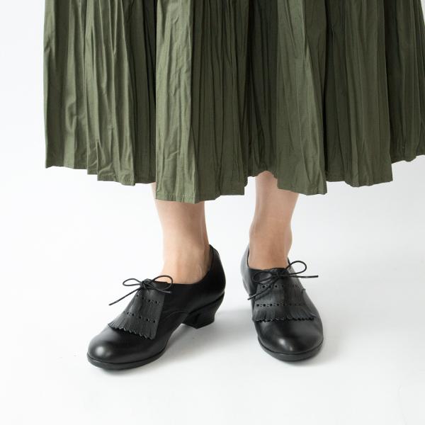 TRAVEL SHOES レースアップ レイン キルト付き BL