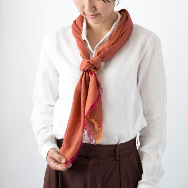 【別注】ダブルフェイススカーフ (90×90)
