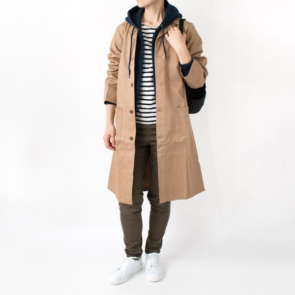 【NEW MODEL】 GARAGE COAT BEIGE