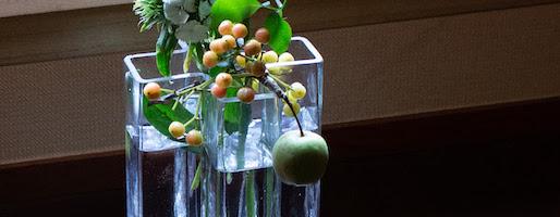 初心者のための、花瓶とお花選び。