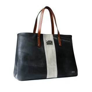 Business tote bag Brown