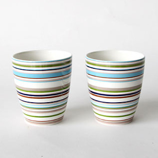 Origo mug pair set beige