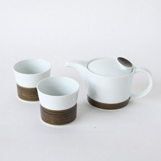 Tea set Asanoito pattern