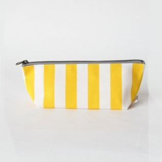 kota triangular pouch yellow