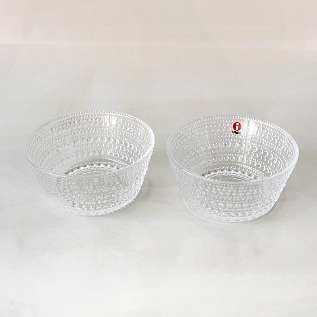Kastehelmi bowl pair set