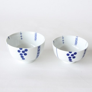 Inban rice bowl set Hanakazari