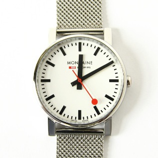 Men Watch Evolution White Mesh