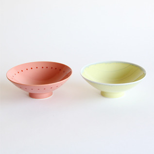 PAIR OF SHALLOW RICE BOWLS RH-16 YM-1