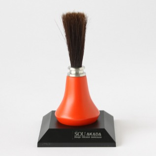 Stand Up PC Brush Vermilion