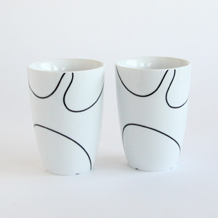 Thermo cup set of two M