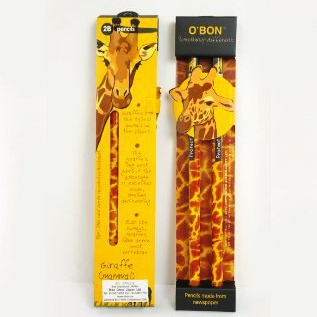 OBON Wildlife Twin  Giraffe