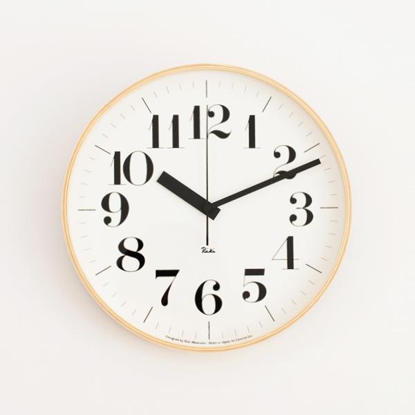 リキクロック0401 電波時計直径30.5cm