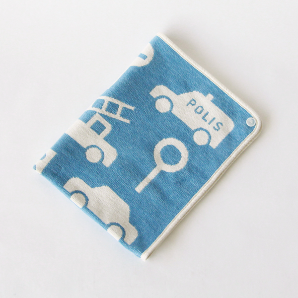 Mini chenille blanket traffic jam