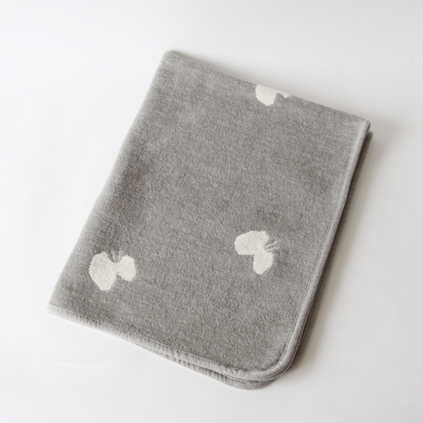 MINI CHENILLE BLANKET CHOUCHO GREY