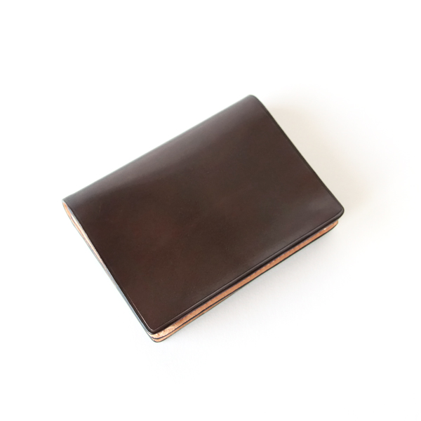 Business card holder dark brown