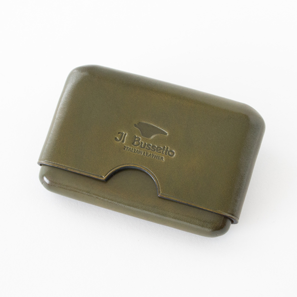 Business card holder seamless khaki