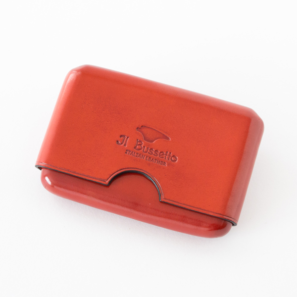 CARD CASE SEAMLESS RED