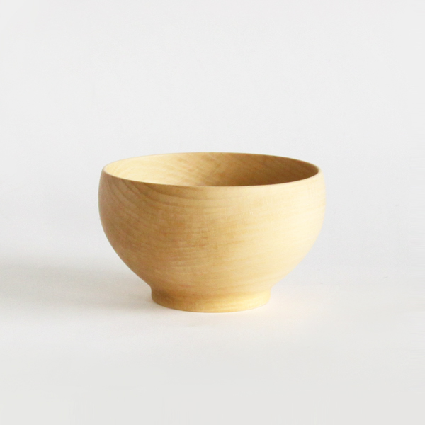 Wooden bowl beech