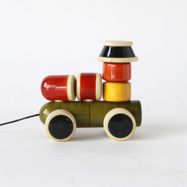 Wooden toy ENGINE