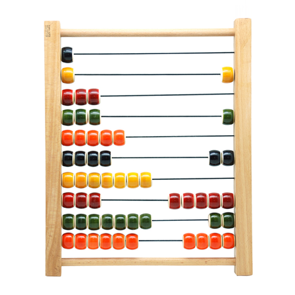 Wooden toy 1.2.3 ..ABACUS