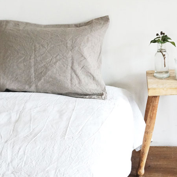 Linen pillow case
