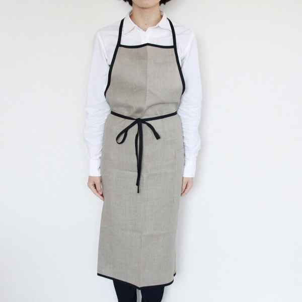 Linen piping apron