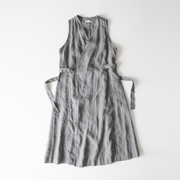 LINEN SALON DRESS