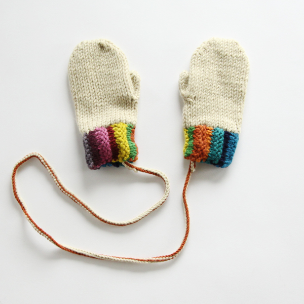 Shangri-La Mittens 2-year-old off-white
