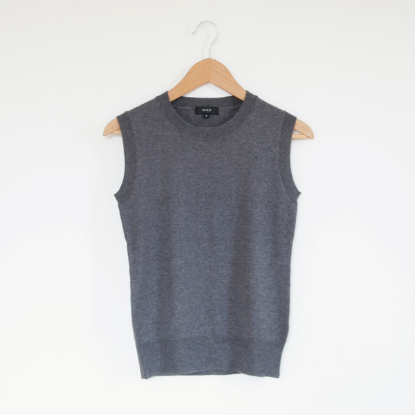 Women basic shell sweater Gray
