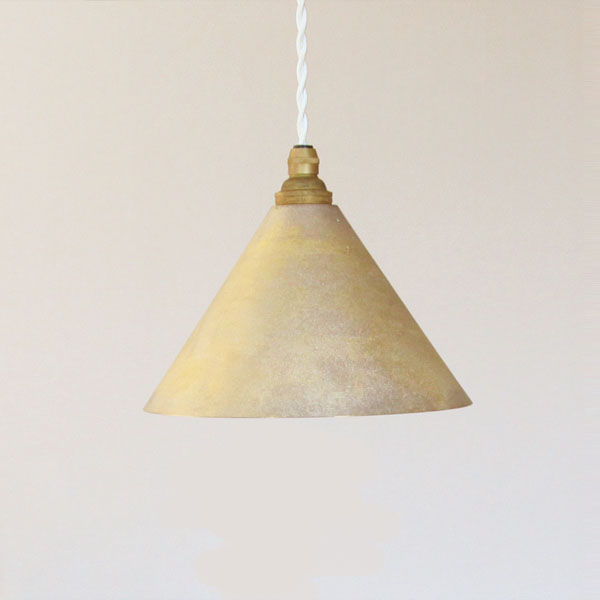 JAPAN DELIVERY ONLY Casting surface pendant lamp cone