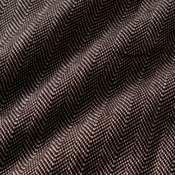 かすり スカーフ ヘリンボーン(ベージュ)