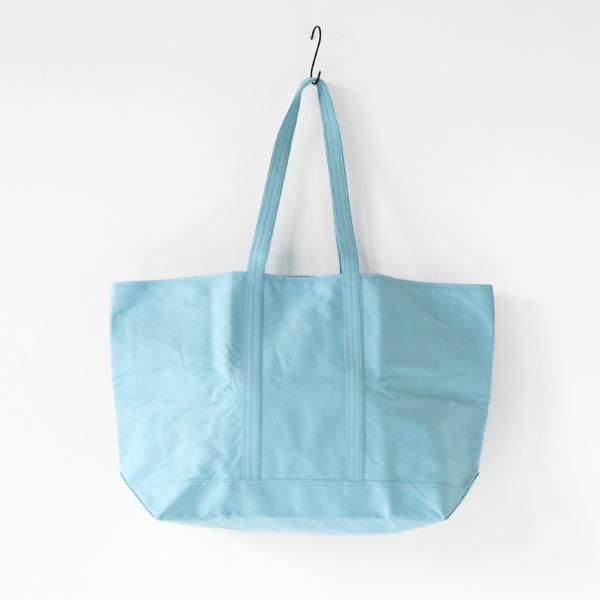 水色のロクシキのマルシェバッグ