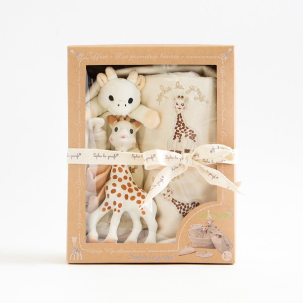 SOPHIE THE GIRAFFE 7 ITEMS FOR BABY
