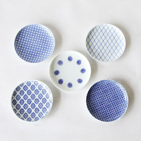 Inban small plates set of 5
