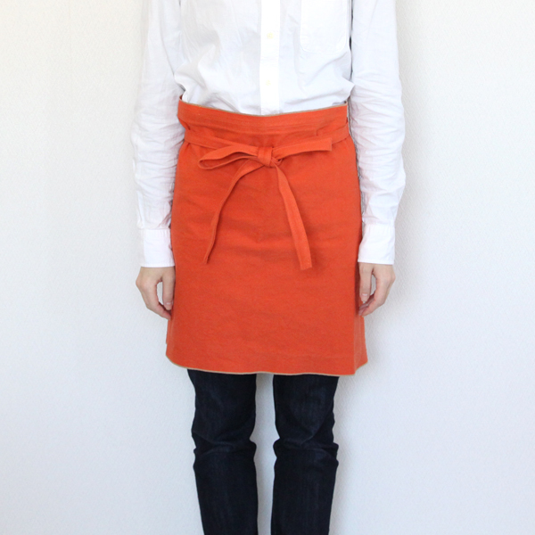Cafe apron cotton canvas