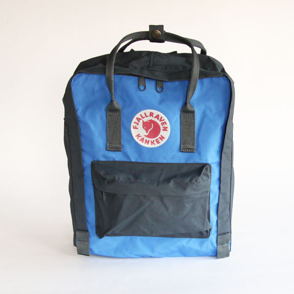 2WAY Kanken bag Graphite Uncle Blue
